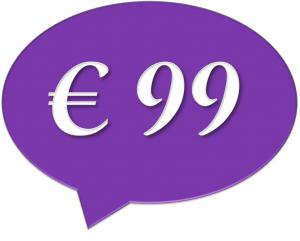 € 99 per maand exclusief BTW